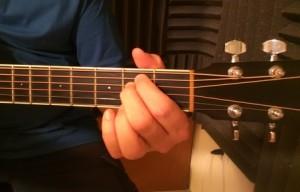 simple guitar chord