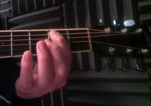 correct fret hand technique