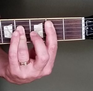 B major chord